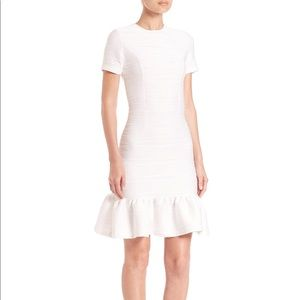Opening Ceremony Wavy Lotus Ruffle Dress